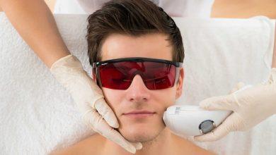 Nettoyage de peau au masculin