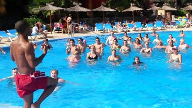 Photo of Aqua-gym : un grand coup d'effort dans l'eau