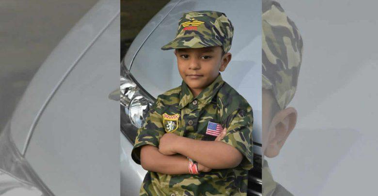 Photo of Jayveer Hemrage, 5 ans, guérit d'un cancer du foie