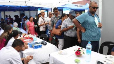 Dépistages de diabète pour la campagne anou aprann viv avek diabet