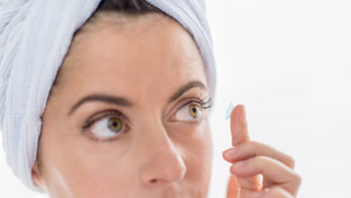 lentilles contacts