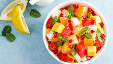 salade de fruits une source de vitamines