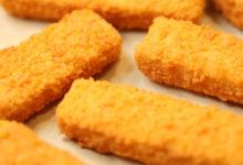 poissons panés