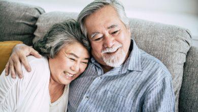 couple seniors vivre à deux
