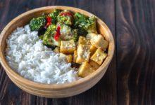 wok brocoli tofu amandes