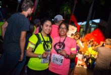 Photo puma night run mauritius 2017