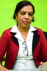 Bina Bonomaully conseillère en allaitement maternel à l'Infant Best Feeding Initiative