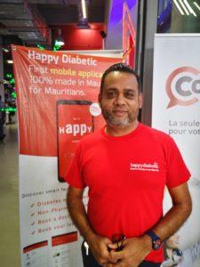 Nadeem Mosafeer, le CEO de Gibson & Hills et concepteur du projet Happy Diabetic.