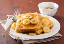 Recette : banana toast