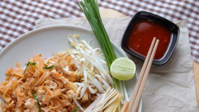 Photo of Recette : Pad thaï aux nouilles de riz