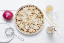 Photo of Recette : Tarte étoilée aux pommes Pink Lady