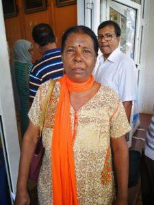 Seeta Raj, 61 ans.