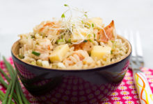Photo of Recette : Salade de riz au poulet