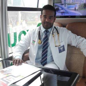 Dr Nunraj Dhawal.