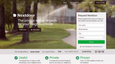 Photo of Nextdoor.com : un réseau social pour rapprocher les voisins de 11 pays
