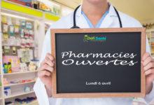 Photo of Confinement : voici les pharmacies ouvertes ce lundi 6 avril
