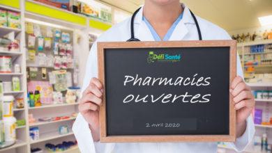 Photo of Confinement : la nouvelle liste des pharmacies ouvertes ce jeudi 2 avril