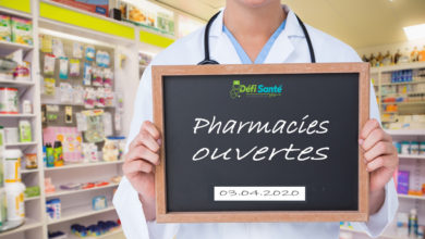 Photo of Confinement : voici les pharmacies ouvertes ce vendredi 3 avril