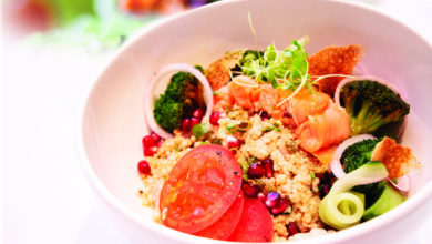 Photo of Healthy bowls : du nouveau au menu de Grain d'Sel à Hennessy Park Hotel