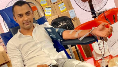 "Photo of [Blood Donors Association] Javed Bolah : ""Que 2 % de la population, soit 20 000 personnes font don de leur sang"""